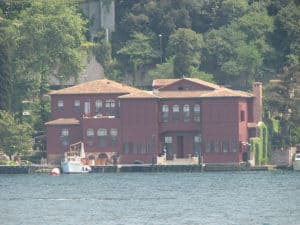 Picture of the Ostrorog House in Üsküdar, Istanbul.