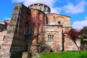 Image of the Chora Church or Kariye Camii in Istanbul, Turkey