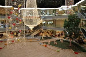 Picture of Galleria Shopping Center in Istanbul, Turkey.