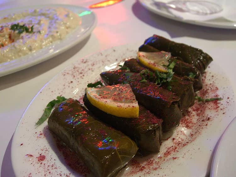 Our top turkish dishes the best of the turkish cuisine dishes picture of wrapped vine leaves yaprak sarma in istanbul turkey forumfinder Image collections