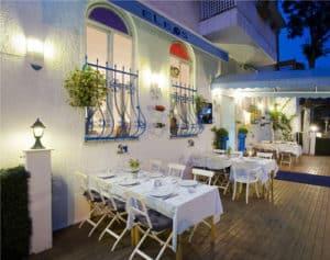 Eleos fish restaurant in Yeşilköy, Istanbul.