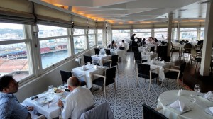 Tarihi Karaköy Balıkçısı fish restaurant in Istanbul, Turkey.