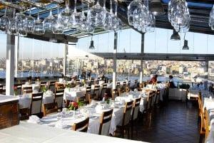 Picture of Hamdi Restaurant in Eminönü, Istanbul-Turkey.