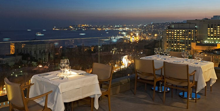 Picture of Vogue Restaurant in Istanbul, Turkey.