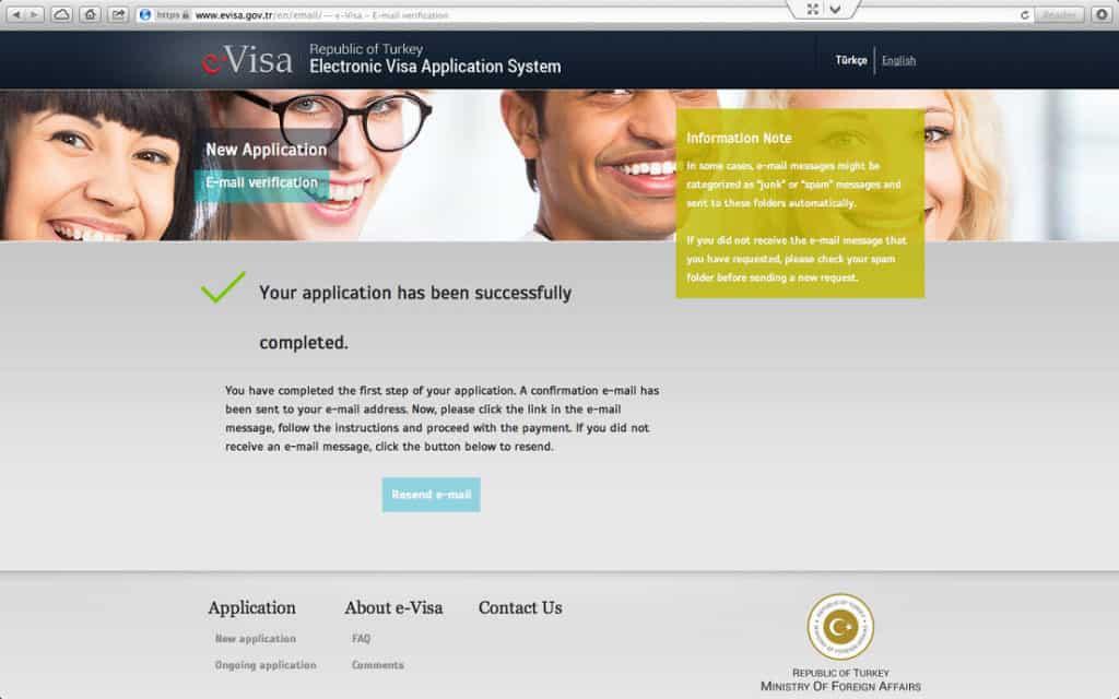 How to get a Turkish Visa or e-Visa online - Step 6