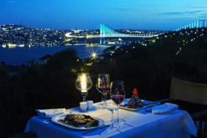 Picture of Sun Set Grill & Bar in Ulus, Istanbul - Turkey.