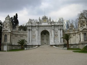 Picture of Dolmabahce Palace in Istanbul, Turkey
