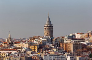 Picture of Galata Tower in Istanbul, Turkey